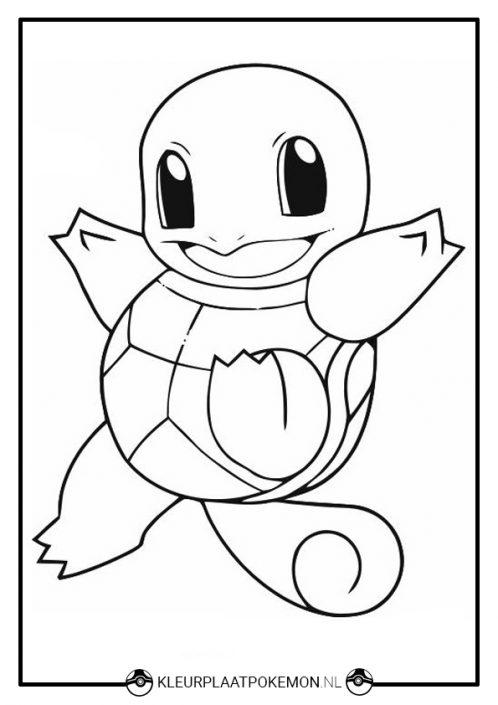 Kleurplaat Printen Pokemon Kleurplaat Van Squirtle Downloaden Bekijk Hier Het